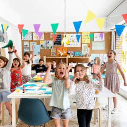 Taller creativo para niños y adultos en Barcelona